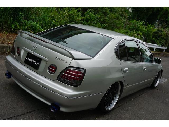 LBコンプ GSルック 新品車高調19AW 黒革調 後期(16枚目)