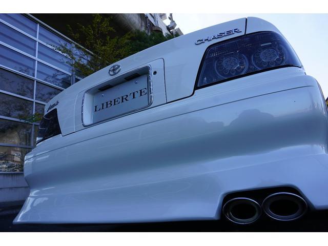LBコンプ フルエアロ 新品車高調 新品19AW 黒革調後期(18枚目)
