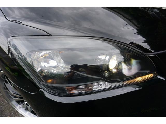 240G LIBERTEコンプリート 新品フルエアロ 新品車高調 新品19AW 新品黒革調 BLACKヘッド&フォグランプワンオフ加工 大型イルミレーション LEDスモークテールランプ チタンルックテールエンド(5枚目)