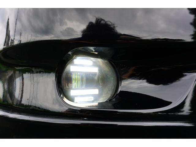 240G LIBERTEコンプリート 新品フルエアロ 新品車高調 新品19AW 新品黒革調 BLACKヘッド&フォグランプワンオフ加工 大型イルミレーション LEDスモークテールランプ チタンルックテールエンド(7枚目)