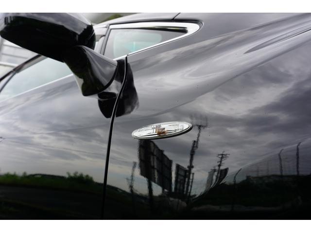 240G LIBERTEコンプリート 新品フルエアロ 新品車高調 新品19AW 新品黒革調 BLACKヘッド&フォグランプワンオフ加工 大型イルミレーション LEDスモークテールランプ チタンルックテールエンド(14枚目)