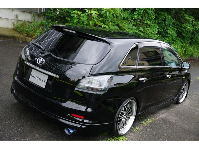 240G LIBERTEコンプリート 新品フルエアロ 新品車高調 新品19AW 新品黒革調 BLACKヘッド&フォグランプワンオフ加工 大型イルミレーション LEDスモークテールランプ チタンルックテールエンド(18枚目)