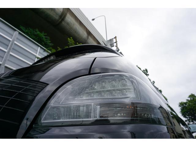 240G LIBERTEコンプリート 新品フルエアロ 新品車高調 新品19AW 新品黒革調 BLACKヘッド&フォグランプワンオフ加工 大型イルミレーション LEDスモークテールランプ チタンルックテールエンド(20枚目)