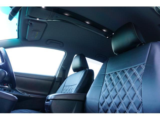 240G LIBERTEコンプリート 新品フルエアロ 新品車高調 新品19AW 新品黒革調 BLACKヘッド&フォグランプワンオフ加工 大型イルミレーション LEDスモークテールランプ チタンルックテールエンド(21枚目)