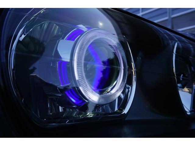 LBコンプリート 新品車高調 新品19inch 黒革調 後期 新品プロジェクターヘッドライト加工  HIDフォグ加工 クリスタルレンズ加工 新品デュアルマフラーテールエンド ウッドコンビハンドル キーレス パワーシート(6枚目)