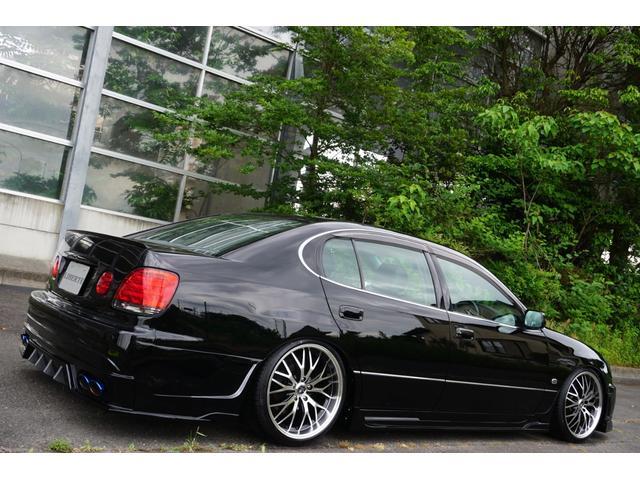 S300ベルテックスエディション LBコンプ 新品フルエアロ 新品フルタップ車高調 新品19AW 黒本革レザー 後期 新品CCFLヘッドライト LEDフォグ 新品4本出しオーバルマフラーテールエンド 新品GSルックLEDテール(17枚目)