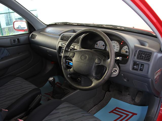 トヨタ スターレット グランツァV ターボ 5速MT パワーウインドウ付