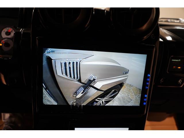 ゼノンエアロ レクサーニ26AW カスタム車輛 ゼノンフルエアロ レクサーニ26AW 内装張替えカスタム車 手榴弾シフト バイザーモニター ヘッドレストモニター ツインモニター サイドカメラ 社外4本出しもフラー(35枚目)