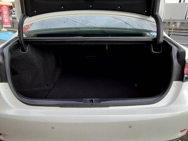 GS250 Iパッケージ 純正ナビ フルセグ レザーシート シートヒーター シートエアコン クルコン パワーシート パドルシフト 衝突軽減ブレーキ Cセンサー ETC フォグランプ オートライト レーンキープ(20枚目)