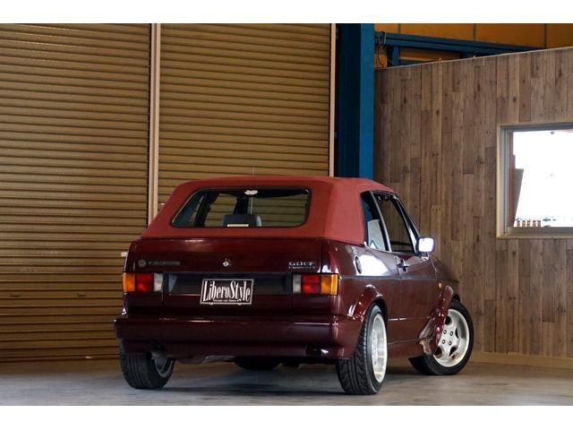 フォルクスワーゲン VW ゴルフカブリオレ クラシックライン 電動油圧オープン ベージュインテリア 左H