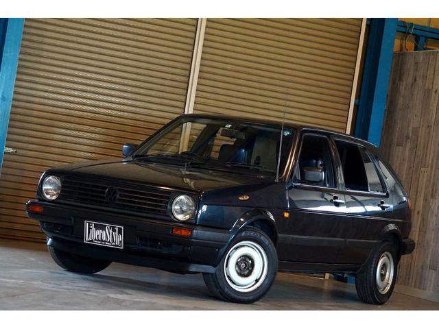 フォルクスワーゲン VW ゴルフ CLi 内外装オリジナルコンディション 右ハンドル 3速AT