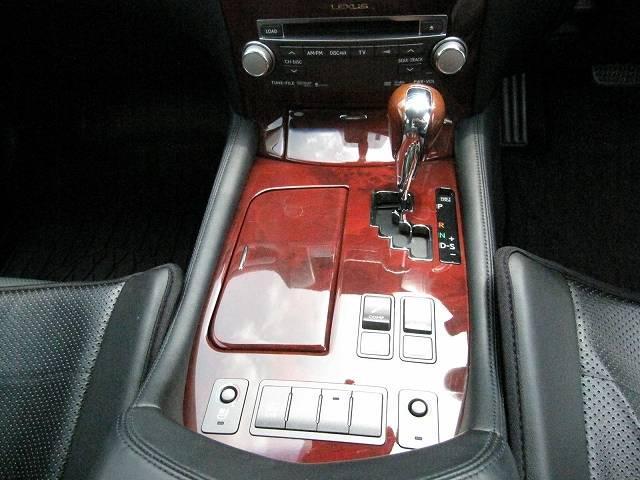レクサス LS LS600hIパケ 黒革 マルチナビ Bカメラ コーティング