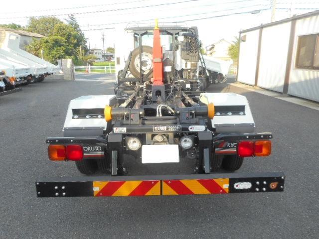 日野 ヒノレンジャー 4tアームロール 登録済未使用車