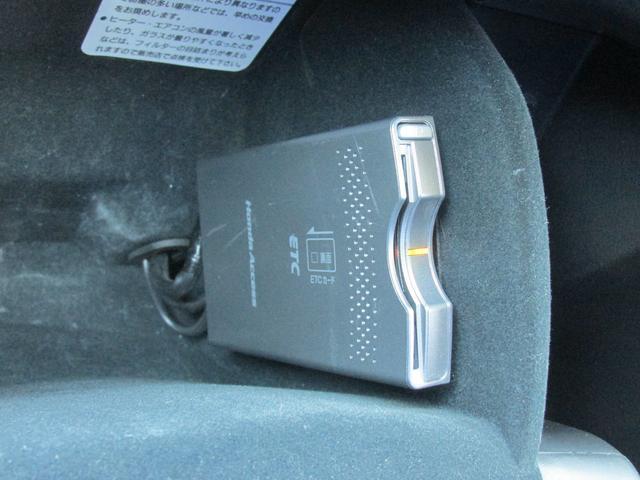 ETC車載器はダッシュ内にあります!!