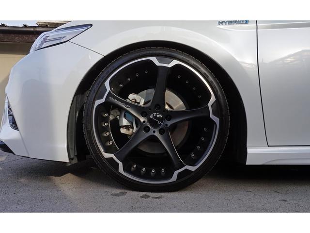 WSレザーパッケージ サンルーフ Giovanna20インチアルミ BLITZ車高調 ブラックレザーシート パワーシート セーフティセンス LEDヘッドライト オートハイビーム スマートキー2個 レーダークルーズ ドラレコ(20枚目)