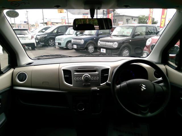 スズキ ワゴンR FXリミテッド CDプレーヤー装着車 アイドリングストップ