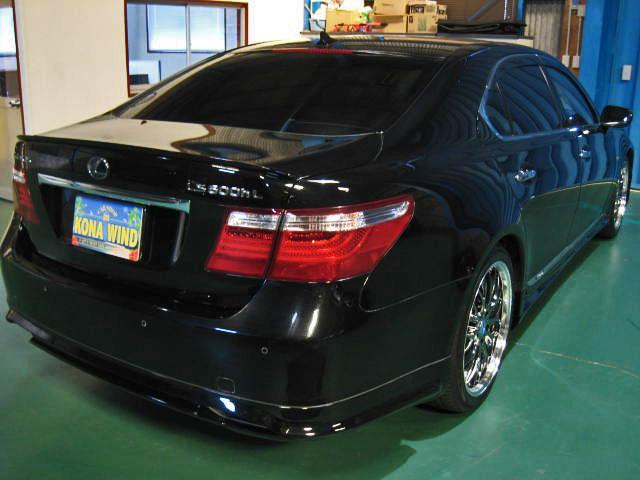LS600hL後席セパレートシートPG 4WDエアロ20AW(5枚目)