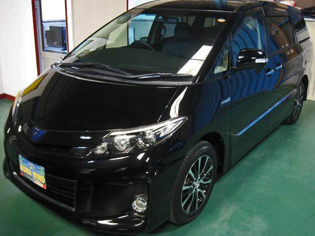 アエラス レザーパッケージ 4WD WTVWSR黒革PBドア(4枚目)
