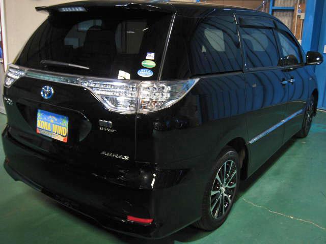 アエラス レザーパッケージ 4WD WTVWSR黒革PBドア(5枚目)