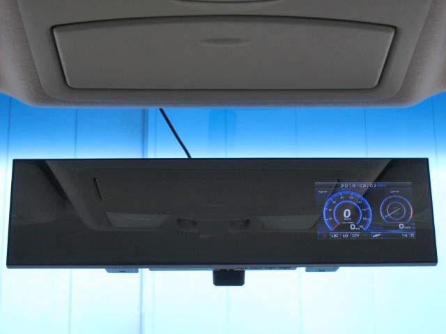 ★ダイナミックパッケージ(フロントクロームプロテクター+LEDバンパーイルミネーション+ルーフスポイラー)★ルームミラー一体型GPS&レーダー探知機(コムテック製、ZERO 73M)
