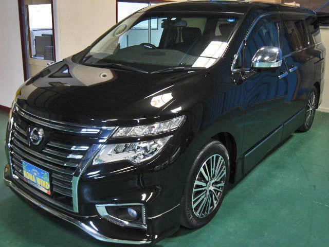 VIP 4WD全OP踏違レダクルBOSE後席シアタWSR黒革(4枚目)