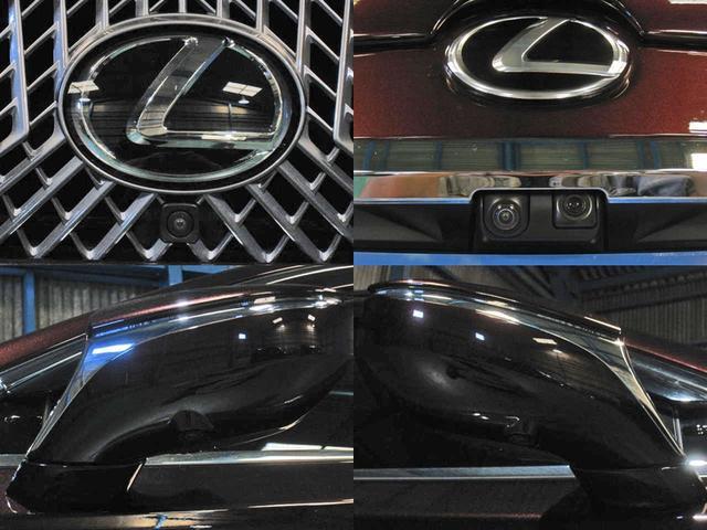 LS500 エグゼクティブ 4WD 切子調カットガラス寒冷地(5枚目)