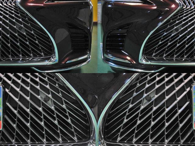 LS500 エグゼクティブ 4WD 切子調カットガラス寒冷地(10枚目)