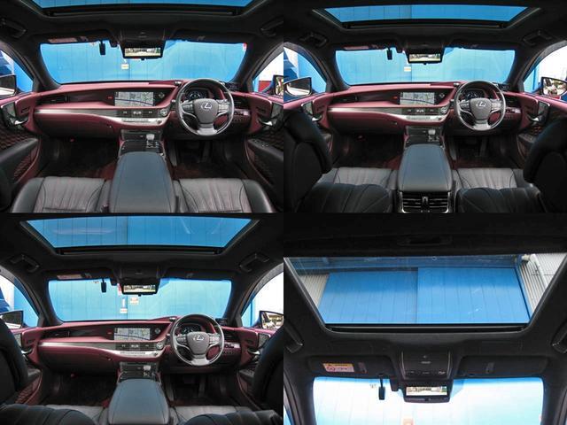 LS500 エグゼクティブ 4WD 切子調カットガラスハンドプリーツ電動サンルーフ寒冷地モデリスタエアロキットTRDリヤスポOP20AWリラクゼーションシートリヤエンタマークレビン23SPマルチオペレーションパネルクールボックス(26枚目)
