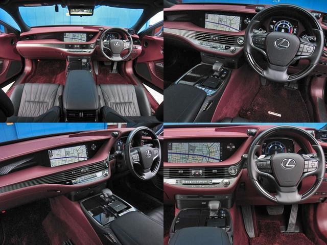 LS500 エグゼクティブ 4WD 切子調カットガラスハンドプリーツ電動サンルーフ寒冷地モデリスタエアロキットTRDリヤスポOP20AWリラクゼーションシートリヤエンタマークレビン23SPマルチオペレーションパネルクールボックス(27枚目)