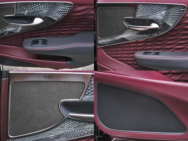 LS500 エグゼクティブ 4WD 切子調カットガラスハンドプリーツ電動サンルーフ寒冷地モデリスタエアロキットTRDリヤスポOP20AWリラクゼーションシートリヤエンタマークレビン23SPマルチオペレーションパネルクールボックス(46枚目)