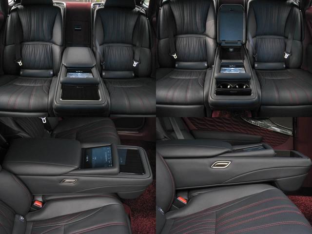 LS500 エグゼクティブ 4WD 切子調カットガラスハンドプリーツ電動サンルーフ寒冷地モデリスタエアロキットTRDリヤスポOP20AWリラクゼーションシートリヤエンタマークレビン23SPマルチオペレーションパネルクールボックス(72枚目)