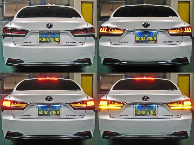 LS500h エグゼクティブ 4WD レクサスセーフティシステムA電動サンルーフL-ANILINE本革シートリヤエンターテイメントマークレビンソン23SP温感リラクゼーションBSMパノラミックビュMデジタルインナミラパワートランク(4枚目)