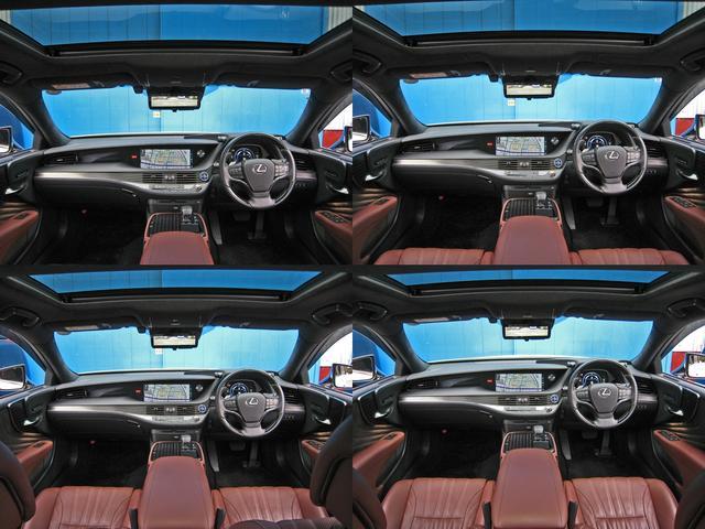 LS500h エグゼクティブ 4WD レクサスセーフティシステムA電動サンルーフL-ANILINE本革シートリヤエンターテイメントマークレビンソン23SP温感リラクゼーションBSMパノラミックビュMデジタルインナミラパワートランク(27枚目)