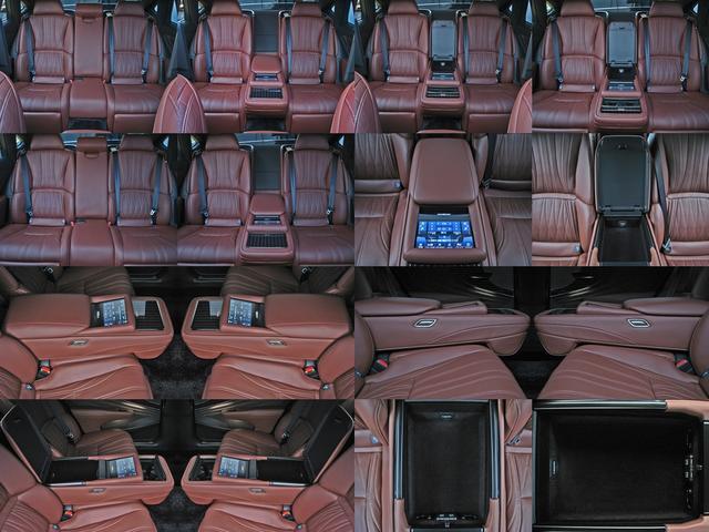 LS500h エグゼクティブ 4WD レクサスセーフティシステムA電動サンルーフL-ANILINE本革シートリヤエンターテイメントマークレビンソン23SP温感リラクゼーションBSMパノラミックビュMデジタルインナミラパワートランク(44枚目)