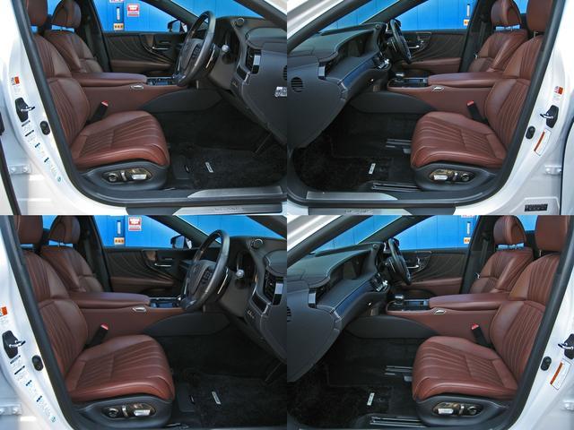 LS500h エグゼクティブ 4WD レクサスセーフティシステムA電動サンルーフL-ANILINE本革シートリヤエンターテイメントマークレビンソン23SP温感リラクゼーションBSMパノラミックビュMデジタルインナミラパワートランク(68枚目)