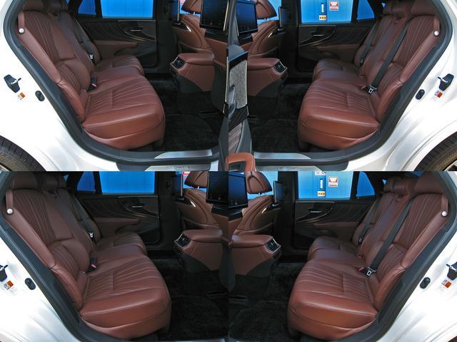 LS500h エグゼクティブ 4WD レクサスセーフティシステムA電動サンルーフL-ANILINE本革シートリヤエンターテイメントマークレビンソン23SP温感リラクゼーションBSMパノラミックビュMデジタルインナミラパワートランク(73枚目)