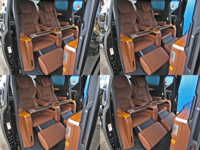 ロイヤルラウンジSP 4WDモデリスタパーソナルカスタマイズサドルタンバンブー本杢フルパーテーションエクストラキャビネット冷蔵庫リヤエンターテイメント24型ディスプレイ後席リラクゼーションシート集中コントロールタッチパネル(67枚目)