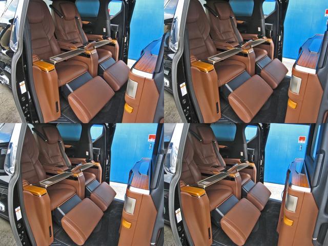 ロイヤルラウンジSP 4WDモデリスタパーソナルカスタマイズサドルタンバンブー本杢フルパーテーションエクストラキャビネット冷蔵庫リヤエンターテイメント24型ディスプレイ後席リラクゼーションシート集中コントロールタッチパネル(68枚目)