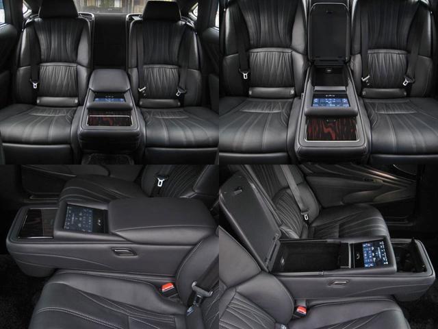 LS500h エグゼクティブ 4WD リヤエンターテイメントリラクゼーションシートセーフティセンスAマークレビンソン23SPヘッドアップディスプレイパワートランクマルチオペレーションパネルアートウッドオーナメントパネルOP20AW(59枚目)