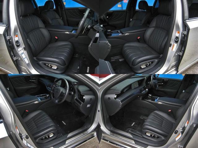 LS500h エグゼクティブ 4WD リヤエンターテイメントリラクゼーションシートセーフティセンスAマークレビンソン23SPヘッドアップディスプレイパワートランクマルチオペレーションパネルアートウッドオーナメントパネルOP20AW(77枚目)