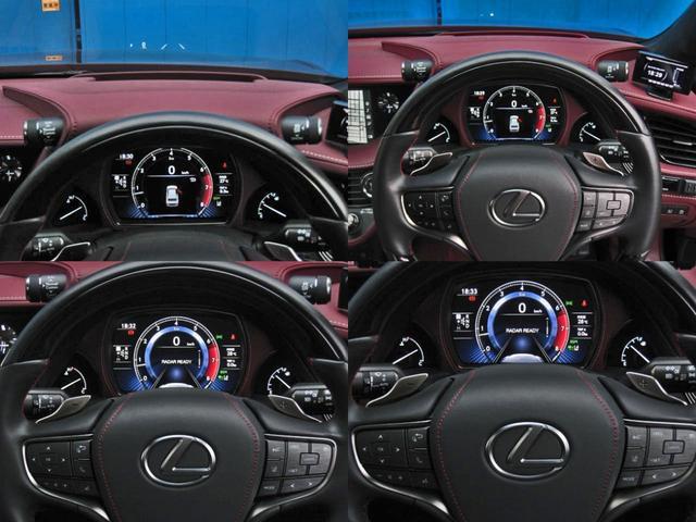 LS500 エグゼクティブ 4WD 切子調カットガラスハンドプリーツ電動サンルーフ寒冷地モデリスタエアロキットTRDリヤスポOP20AWリラクゼーションシートリヤエンタマークレビン23SPマルチオペレーションパネルクールボックス(23枚目)