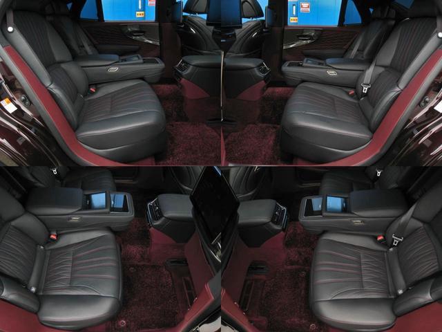 LS500 エグゼクティブ 4WD 切子調カットガラスハンドプリーツ電動サンルーフ寒冷地モデリスタエアロキットTRDリヤスポOP20AWリラクゼーションシートリヤエンタマークレビン23SPマルチオペレーションパネルクールボックス(70枚目)