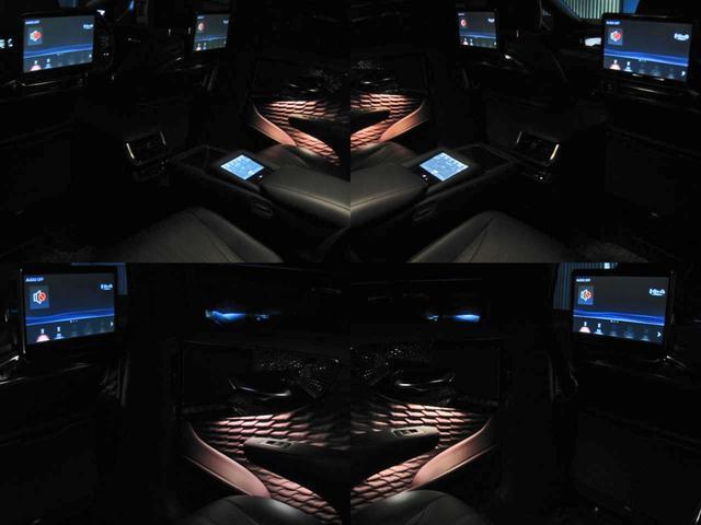 LS500 エグゼクティブ 4WD 切子調カットガラスハンドプリーツ電動サンルーフ寒冷地モデリスタエアロキットTRDリヤスポOP20AWリラクゼーションシートリヤエンタマークレビン23SPマルチオペレーションパネルクールボックス(77枚目)