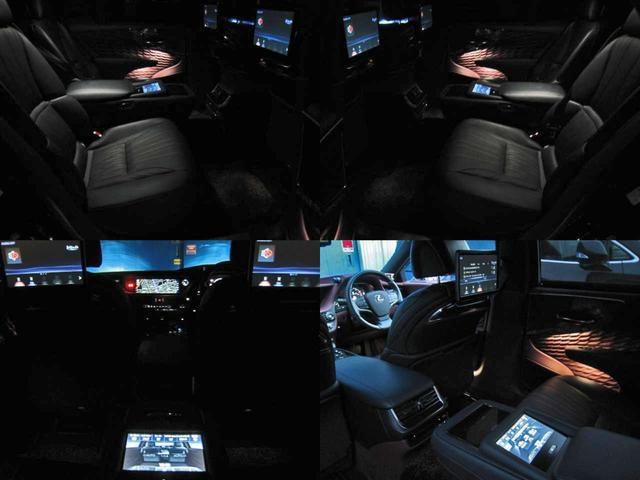 LS500 エグゼクティブ 4WD 切子調カットガラスハンドプリーツ電動サンルーフ寒冷地モデリスタエアロキットTRDリヤスポOP20AWリラクゼーションシートリヤエンタマークレビン23SPマルチオペレーションパネルクールボックス(78枚目)