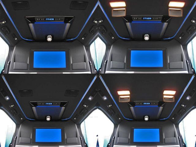 エグゼクティブラウンジS ロイヤルラウンジ 4WD フルパーテーション冷蔵庫ロイヤルラウンジ専用VIPプレミアムナッパ本革シートリヤエンターテイメント24型ディスプレイ集中コントロールタッチパネルリラクゼーションシステムモデリスタエアロリモスタ(25枚目)