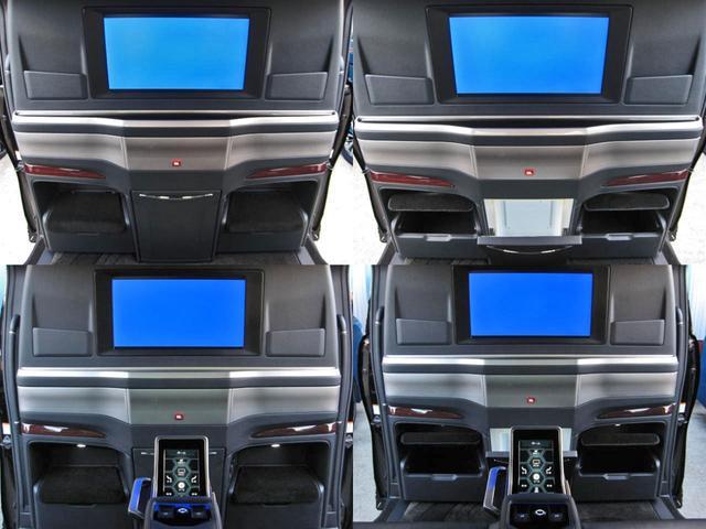 エグゼクティブラウンジS ロイヤルラウンジ 4WD フルパーテーション冷蔵庫ロイヤルラウンジ専用VIPプレミアムナッパ本革シートリヤエンターテイメント24型ディスプレイ集中コントロールタッチパネルリラクゼーションシステムモデリスタエアロリモスタ(37枚目)