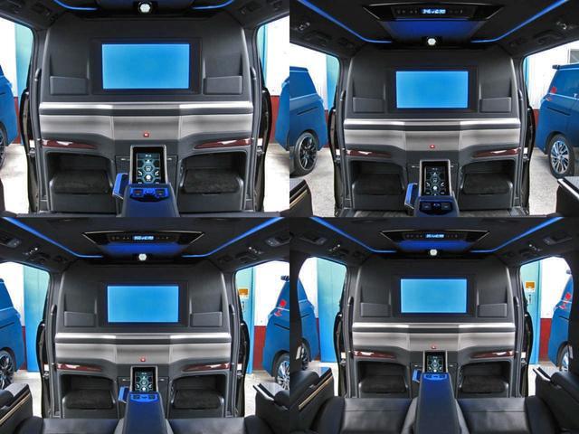 エグゼクティブラウンジS ロイヤルラウンジ 4WD フルパーテーション冷蔵庫ロイヤルラウンジ専用VIPプレミアムナッパ本革シートリヤエンターテイメント24型ディスプレイ集中コントロールタッチパネルリラクゼーションシステムモデリスタエアロリモスタ(38枚目)