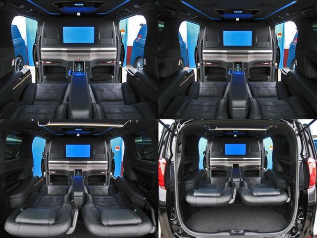 エグゼクティブラウンジS ロイヤルラウンジ 4WD フルパーテーション冷蔵庫ロイヤルラウンジ専用VIPプレミアムナッパ本革シートリヤエンターテイメント24型ディスプレイ集中コントロールタッチパネルリラクゼーションシステムモデリスタエアロリモスタ(39枚目)