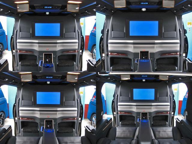 エグゼクティブラウンジS ロイヤルラウンジ 4WD フルパーテーション冷蔵庫ロイヤルラウンジ専用VIPプレミアムナッパ本革シートリヤエンターテイメント24型ディスプレイ集中コントロールタッチパネルリラクゼーションシステムモデリスタエアロリモスタ(40枚目)