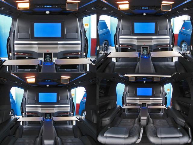 エグゼクティブラウンジS ロイヤルラウンジ 4WD フルパーテーション冷蔵庫ロイヤルラウンジ専用VIPプレミアムナッパ本革シートリヤエンターテイメント24型ディスプレイ集中コントロールタッチパネルリラクゼーションシステムモデリスタエアロリモスタ(43枚目)